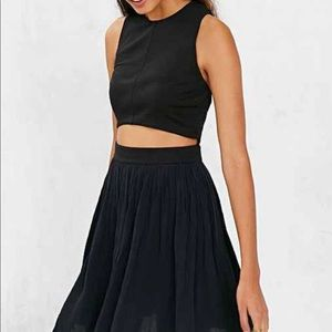Urban outfitters cropped midriff dress small